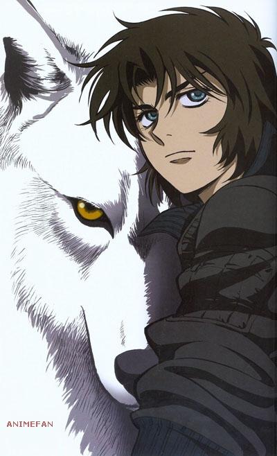 Плакат Волчий дождь_02