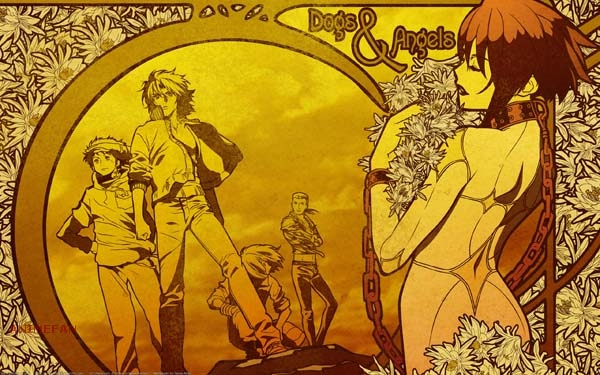 Плакат Волчий дождь_04