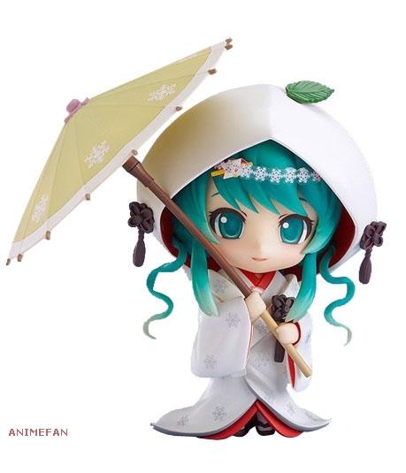 Фигурка Вокалоид Хатсуне Мику White Kimono Ver._02