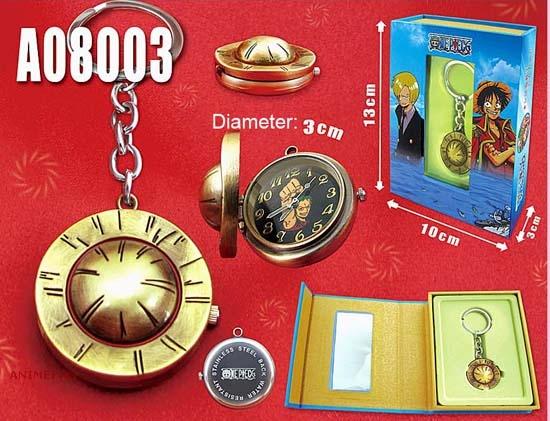 Часы с брелком One Piece - Zoro_01