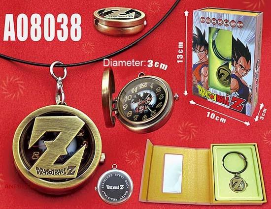 Часы с кулоном Dragon Ball Z_01