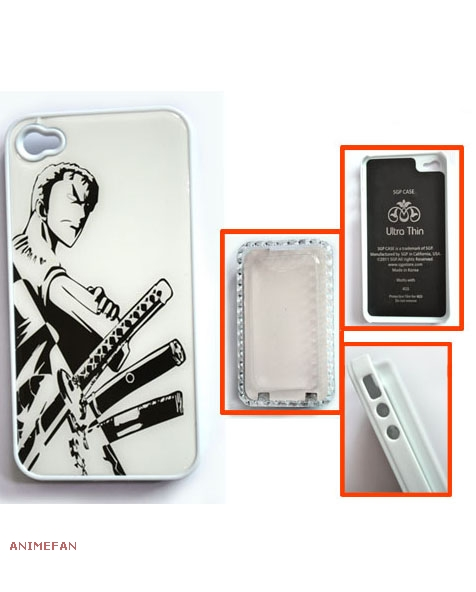 Чехол для iPhone 4 One Piece Zoro_01