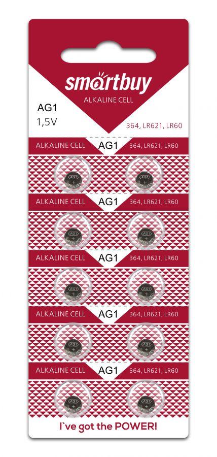 Батарейка часовая Smartbuy AG1-10B