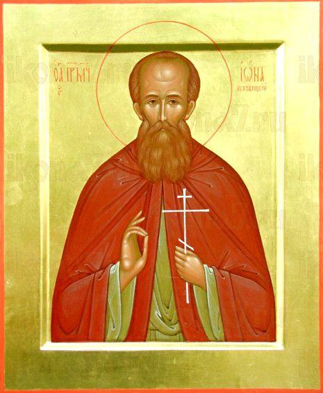Иона Луховицкий (рукописная икона)