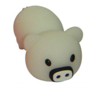 Флешка Свинья белая