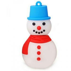 Флешка Снеговик