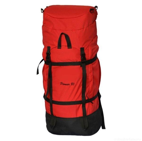 Купить Рюкзак PRIVAL Пионер 80 л ткань Oxford 600D / красный