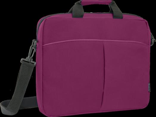 """Сумка для ноутбука Defender Iota 15""""-16"""" бордовый, органайзер, карман"""