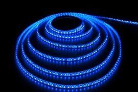 СД лента 9.6Вт SMD3528-120LED 480Lm 12V IP65 (синий)