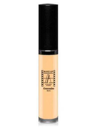 Make-Up Atelier Paris Fluid Concealer Gilded FLWA3Y Yellow medium Корректор-антисерн флюид водостойкий 3Y натуальный золотистый