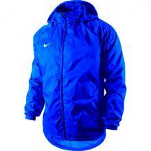 Детская ветровка Nike Foundation 12 Rain Jacket With Hood Waterproof With Zip Junior синяя