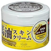 Японский крем для тела ROLAND с лошадиным маслом 220гр