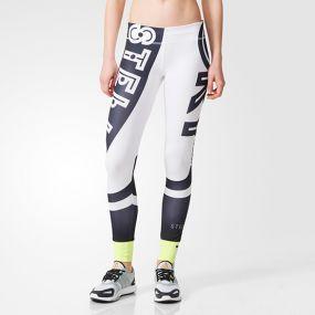 Женские леггинсы adidas Stellasport Graphic Tights Logo белые