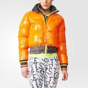 Женская куртка adidas Stella McCartney Sport Warm Jacket оранжевая