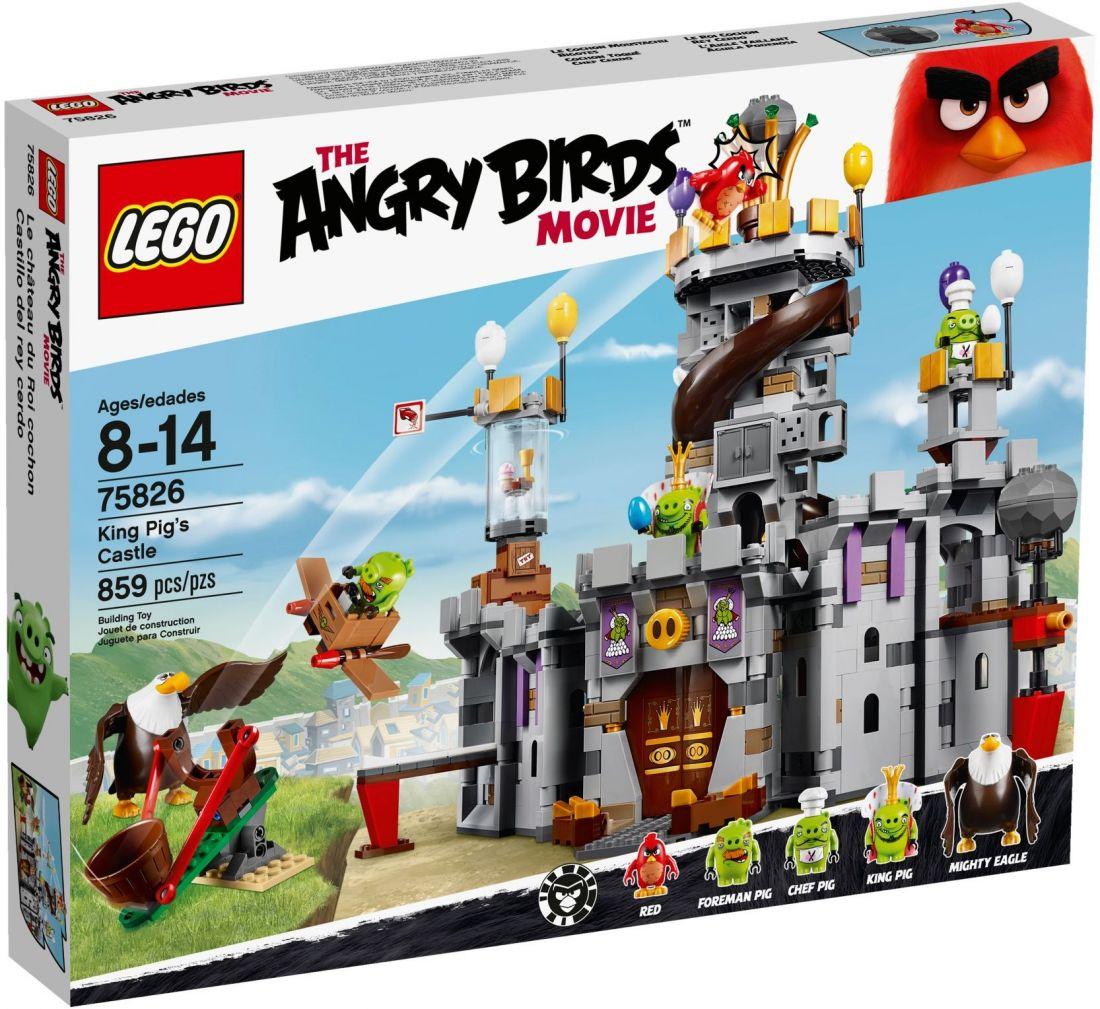 75826 Замок короля свинок ЛЕГО Angry Birds