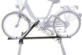 Крепление велосипеда на крышу PERUZZO Napoli чёрный (сталь)