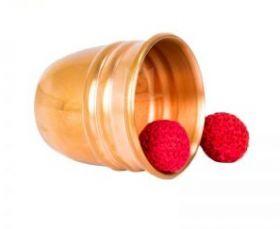 Deluxe Chop Cup - медь (золото) (2 шарика)