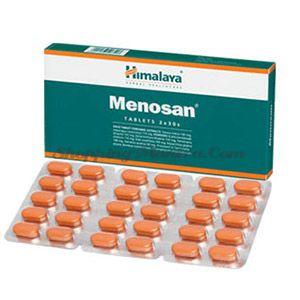 Меносан препарат для женщин в климактерический период Хималая / Himalaya Herbals Menosan Tablets