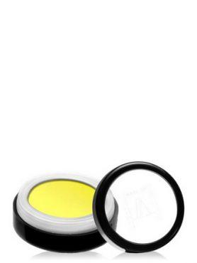 Make-Up Atelier Paris Intense Eyeshadow PR42 Lemon yellow Пудра-тени-румяна прессованные №42 желтый лимон (лимонные), запаска
