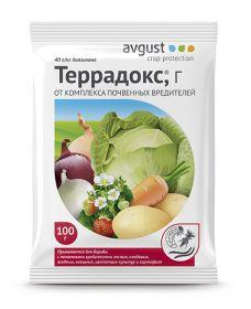 """Препарат от почвенных вредителей """"Террадокс""""."""