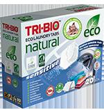 Tri-Bio Натуральные эко таблетки для стирки 20 табл.