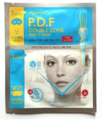 555609 Маска для проблемной кожи лица (c P.D.F., для молодой кожи), двухзональная,18 мл/9 г