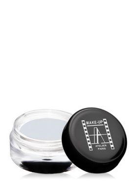 Make-Up Atelier Paris Cream Eyeshadow ESCSW Sparkling white Тени для век кремовые сверкающие белые (искрящийся белый)