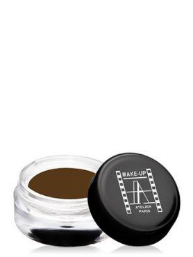 Make-Up Atelier Paris Cream Eyeshadow ESCVBZ Vert bronze Тени для век кремовые бронзово - зеленый (коричневый сатин)