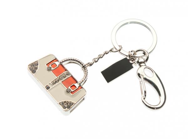 64GB USB-флэш накопитель Apexto UJ045 Сумка серебро красно-белая