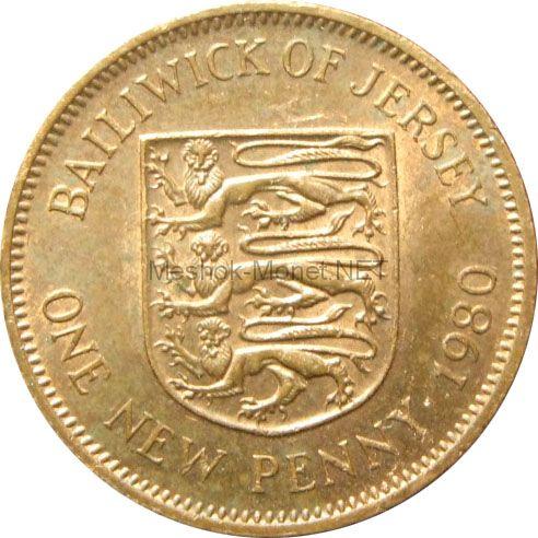 Остров Джерси 1 пенни 1971 г.