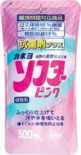 """Kaneyo Кондиционер для белья с растительными компонентами """"Softa – аромат розовых цветов"""" 500 мл"""