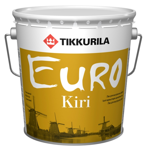 Евро Кири - лак для паркетных и деревянных полов и лестниц