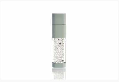 8GB USB-флэш накопитель UsbSouvenir UL-5016 стеклянный, корпус белый, кристал белый