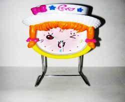 """Часы  """"Девочка в шляпе"""""""