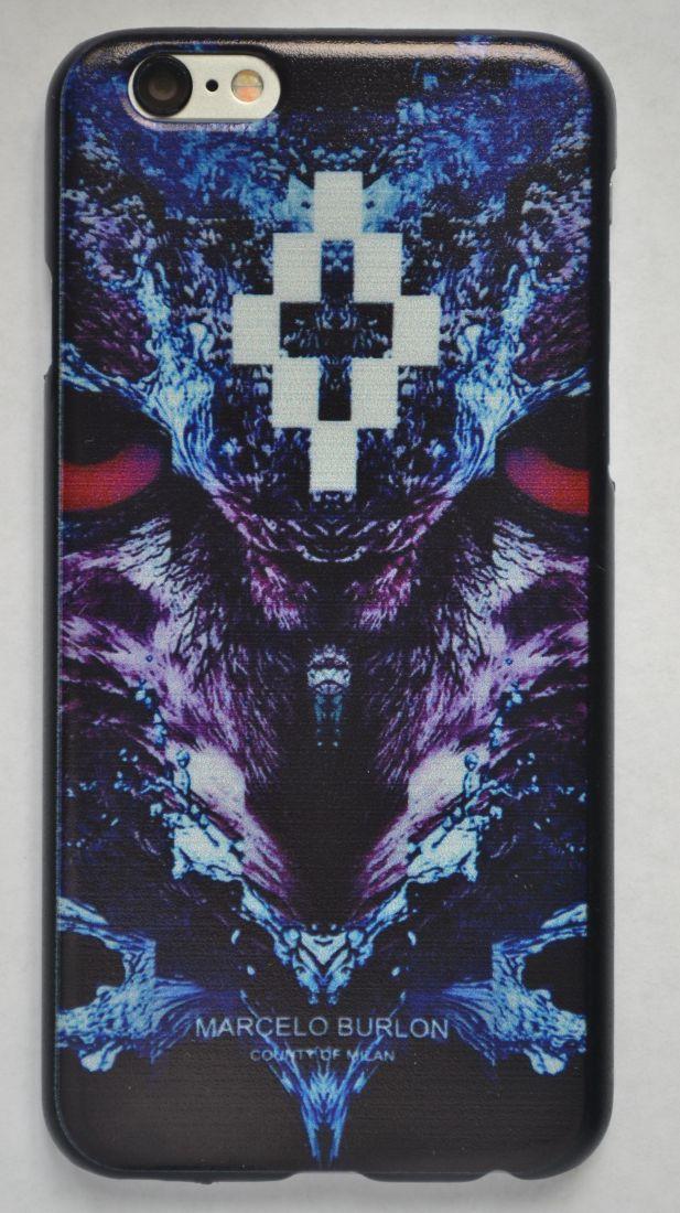 Чехол-накладка для iPhone 5/5s Marcelo Burlon №10