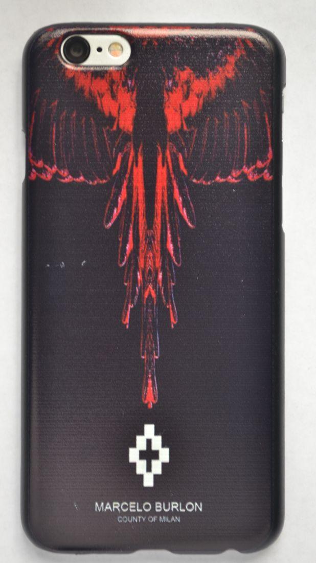Чехол-накладка для iPhone 5/5s Marcelo Burlon №6