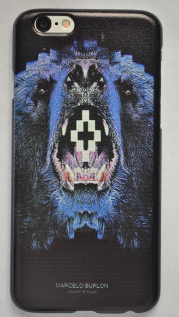 Чехол-накладка для iPhone 5/5s Marcelo Burlon №1