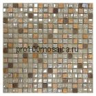 Lavada Beige. Мозаика 15*15 серия GLASSTONE,  размер, мм: 300*300*8 (ORRO Mosaic)