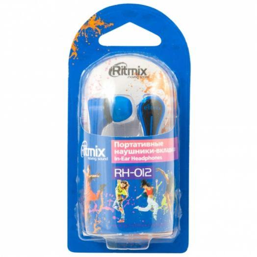 Наушники вакуумные RITMIX RH-012 Blue
