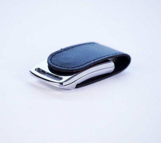 16GB USB-флэш накопитель Apexto U503I гладкая черная кожа OEM