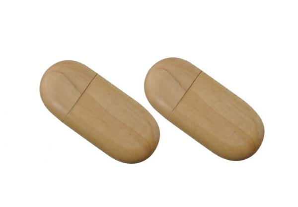4GB USB-флэш накопитель Apexto UW-0026 деревянная, сосна