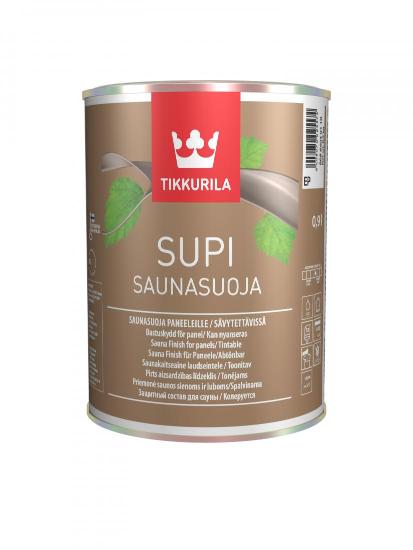 Супи Саунасуоя – защитный состав для стен и потолка в бане