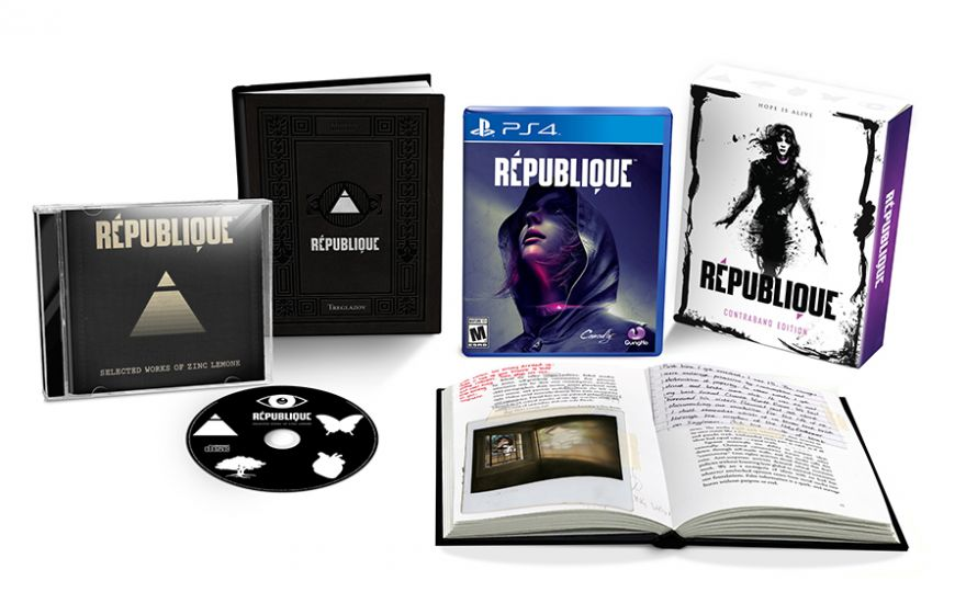 Игра Republique Contraband Edition (PS4)