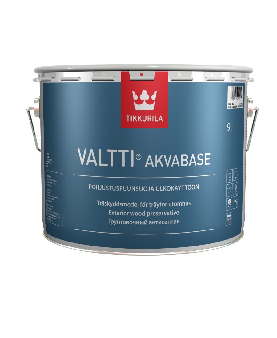 Грунт для наружных работ Tikkurila Valtti Akvabase