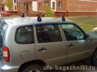 Багажник на крышу на Chevrolet NIVA (Атлант, Россия) - стальные дуги