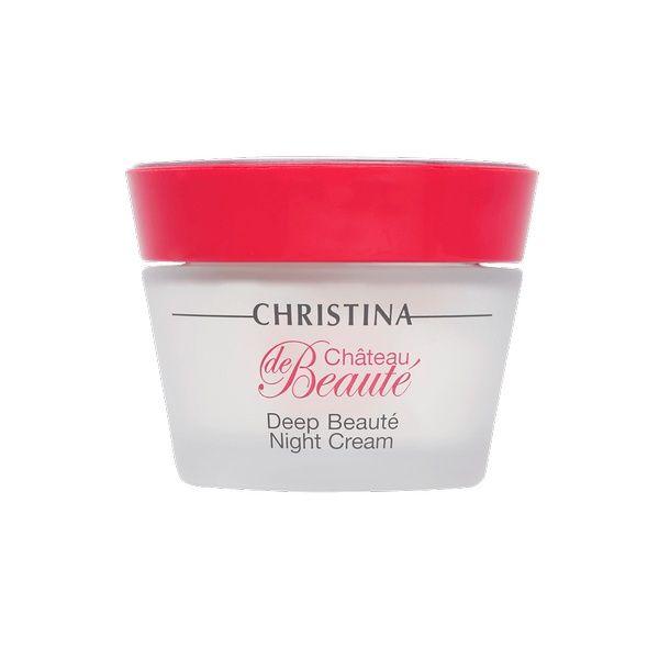 Интенсивный обновляющий ночной крем для лица Сhateau de Beaute Christina (Шато Дэ Ботэ Кристина) 50 мл