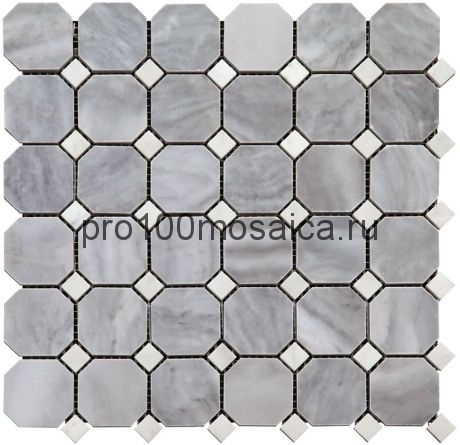 M033-M001-BP Мозаика 48*48+15*15 камень OCTAGON 305х305х10 мм (NATURAL)