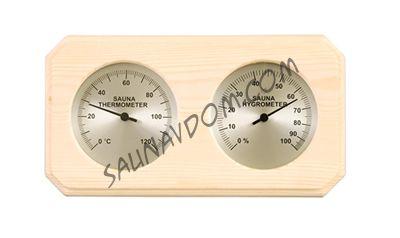 Термогигрометр SAWO 221 - THA, осина
