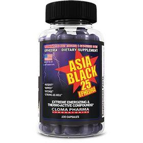 Cloma Pharma Black Asia (100 капс.)