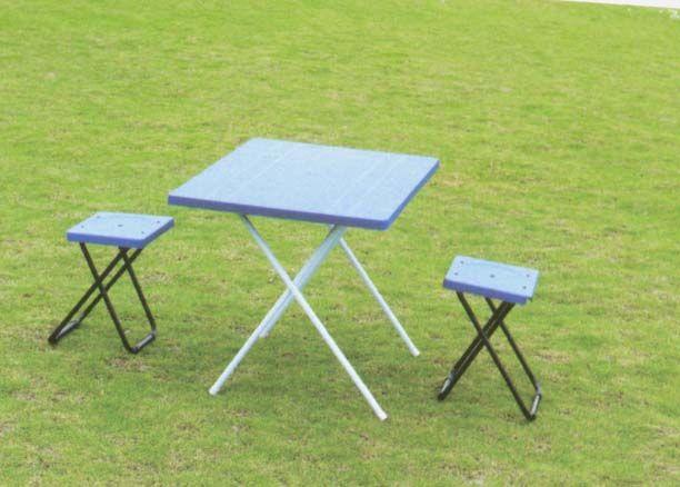 Набор мебели туристической (стол+2табурета) HXT-8806-B